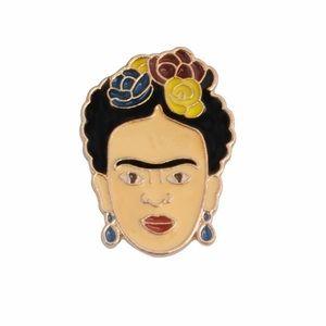 Jewelry - 🛑S A L E🛑 Frida Kahlo Enamel Pin Artist Jewelry